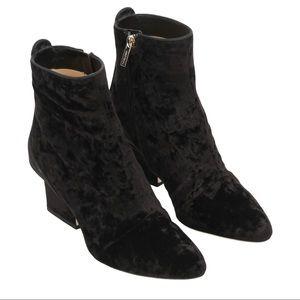 NEW Jimmy Choo Autumn 65 velvet ankle boots, Black